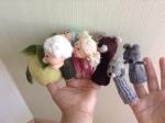 marionnettes en laine