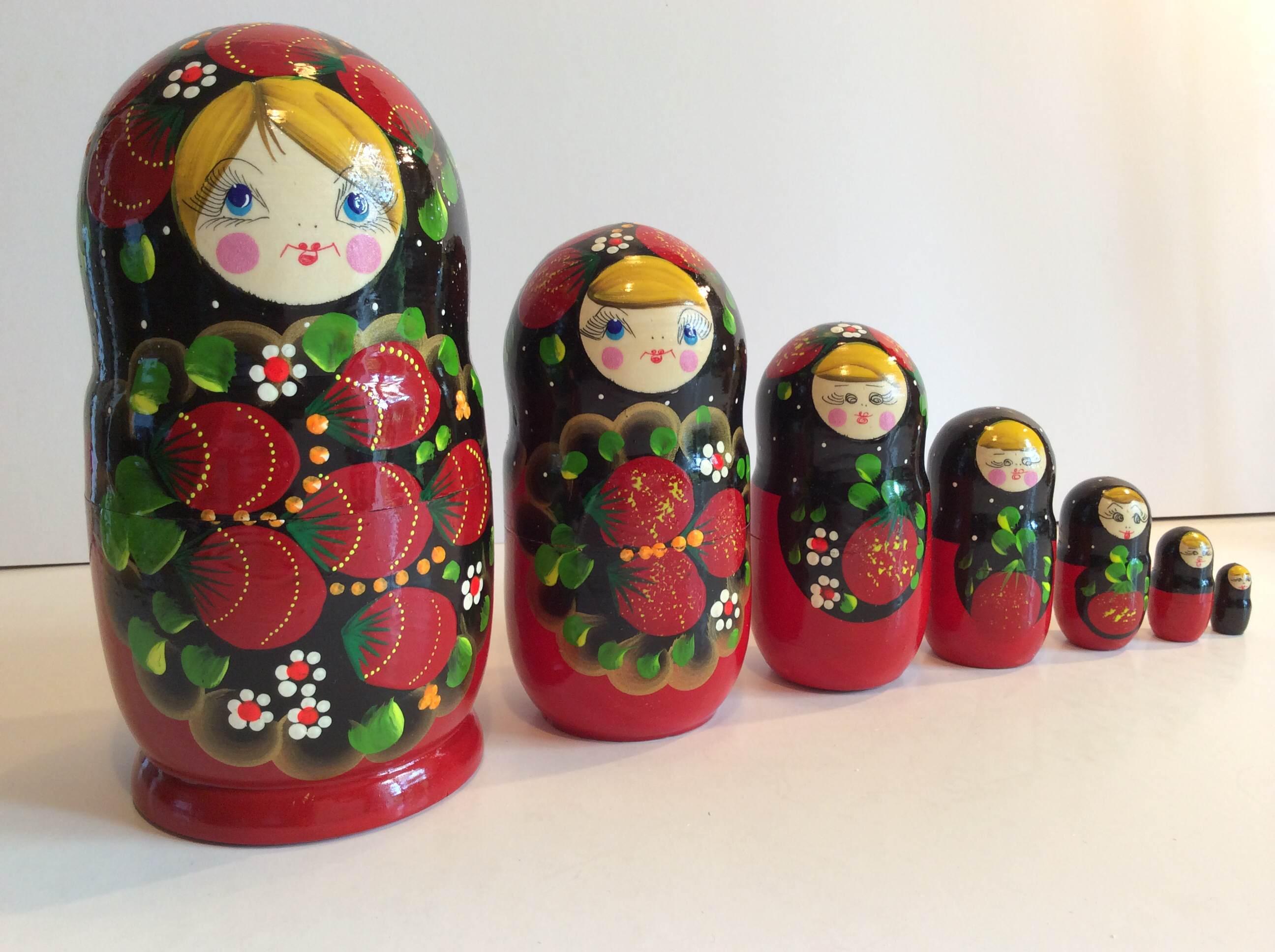 Poup e russe ou matriochka omikse for Poupee russe