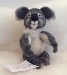 peluche en laine koala