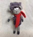 petit mouton en laine feutree
