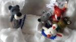 marionnette loup (conte la moufle)
