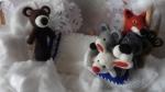 marionnette ours (conte la moufle)