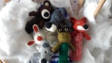 animaux marionnettes la moufle