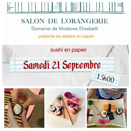 Paper crafts sushies workshop