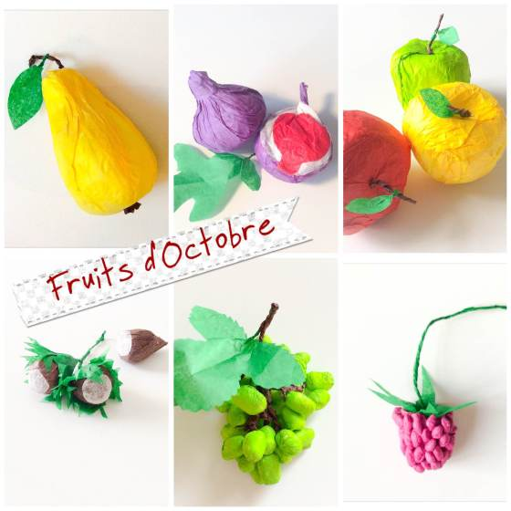 paper crafts fruits